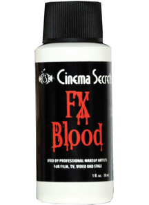 Blood Fx Carded Cinema Secrets