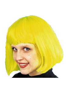 Cindy Wig Neon Green For Women