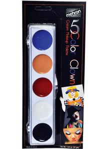 Clown Color Palette Carded