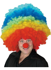 Clown Mega Wig For Adults - 17649