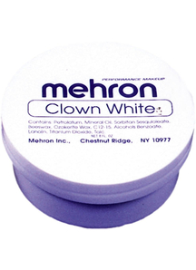 Clown White 8 Oz Mehron