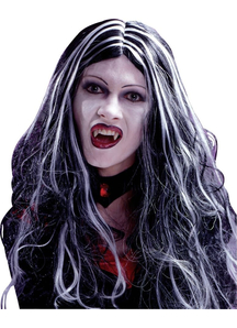 Curly Vampire Wig For Halloween 30 In