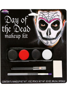 Day Of The Dead Make Up Kits Male