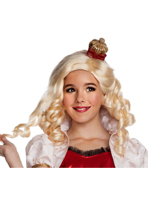 Eah Apple White Wig For Children