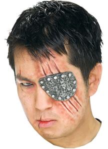 Eye Patch Metal Prosthetic