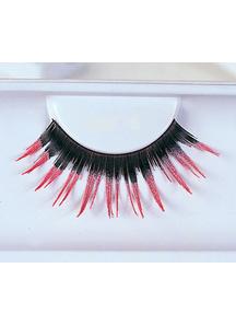Eyelashes Black With Pink