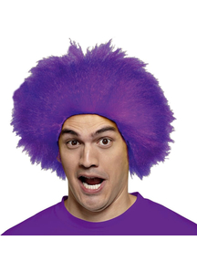 Funny Purple Wig