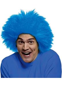 Funny Wig Blue