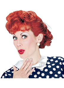 I Love Lucy Wig For Adults