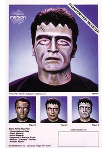 Instruction Sheets Frankenstein