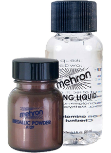 Metallic Bronze Liquid Powder