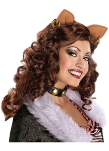 Mh Clawdeen Wolf Wig For Adults