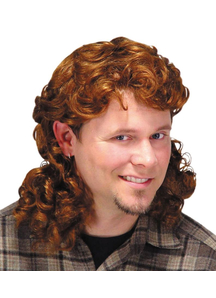 Mullet Wig Auburn For Men