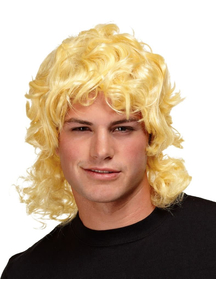 Mullet Wig Blonde For Men