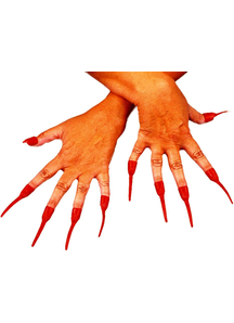 Nails Red Devil