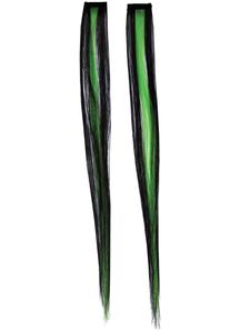 Nice Hair Exten Green Black