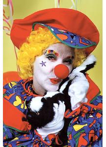 Nose Sponge Clown Red