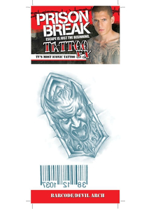 Prison Break Barcode Devilarch