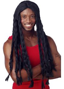 Rasta Black Wig