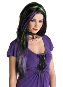 Rebel Witch Wig Black