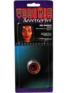 Red Mask Cover Carded
