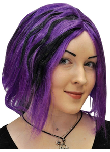 Shag Purple Peruke