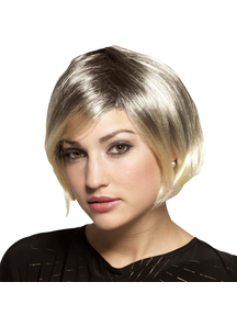 Spicy Glamour Blonde Wig For Adults - 17632