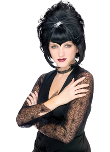 Spiderella Wig For Halloween