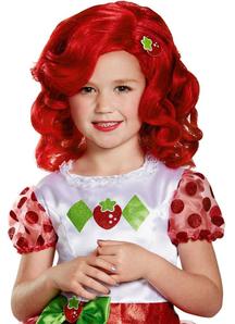 Strawberry Shortcake Wig For Children