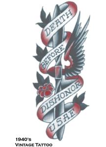 Tattoo Vintage Death B4 Dishon
