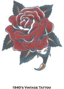 Tattoo Vintage Rose