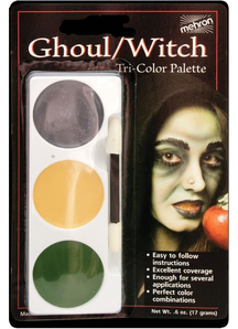 Tri Color Palette Ghoul Witch