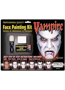 Vampire Makeup Kit Wolfe Bros