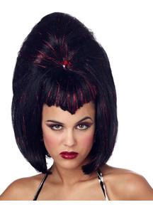Viva Vampire Wig For Halloween