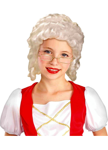 Wig For Colonial Girl Costume