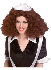 Wig Magenta Costume