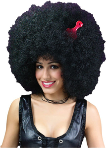 Afro Super Jumbo Wig For Adults