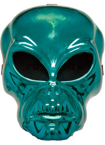 Alien Hockey Green Mask For Halloween