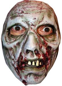 B Spaulding Zombie 4 Adlt Face For Halloween