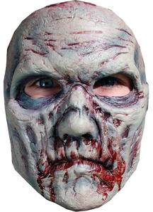 B Spaulding Zombie 8 Adlt Face For Halloween