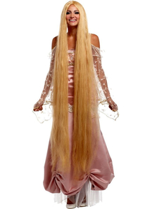 Blonde 60 Inch Straight Wig For Women