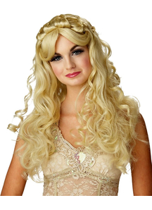 Blonde Wig For Princess Costume