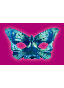 Butterfly Iridescent Eye Mask For Adults