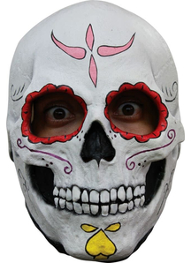 Catrina Skull Latex Mask For Halloween
