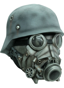Chemical Warfare Ad Latex Mask For Halloween
