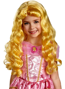 Child Wig For Aurora Costume