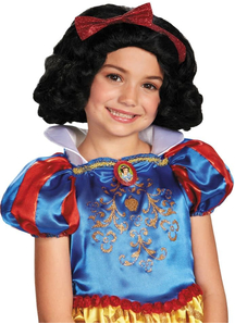 Child Wig For Snow White Costume