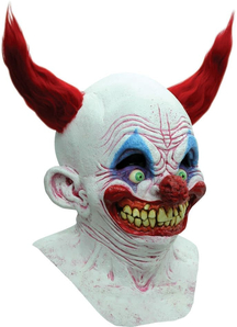 Chingo The Clown Latex Mask For Halloween