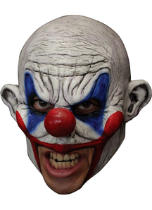 Clooney Clown Chinless Latex M For Halloween