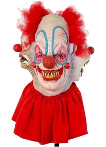 Clowning Around Mask Latex For Halloween